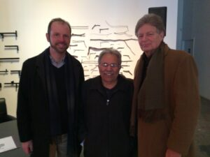 WESA radio's Josh Raulerson, Tony, and Marcus at the Pittsburgh Humanities Festival