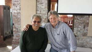 Tony and Marcus at the Pump House, Homestead, PA